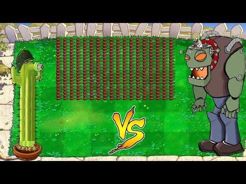 1 Cactus Cob Cannon vs Dr. Zomboss Fight - Hak Plants vs Zombies