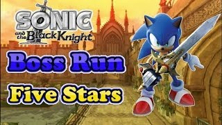 Sonic and the Black Knight - 5 Star Boss Run - All Bosses/No Damage