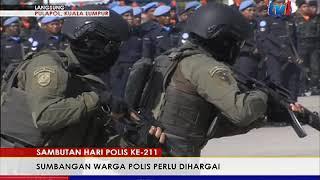 Langsung: Pusat Latihan Polis Kl – Peringatan Hari Polis Ke-211 2018 11am 25 Mac 2018