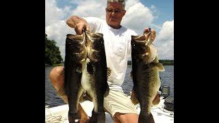 Fishing for Big Trophy Bass 43lb. Five Fish Limit