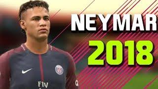 Neymar jr   magical ● skills and goals ● psg 2017/18  | fifa 18