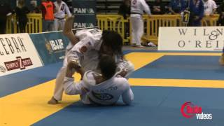 Ben Henderson vs Jamie Canuto 2013 Pan Jiu Jitsu - OFFICIAL