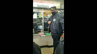 Black Man Confronts A Arab Store Clerk Who Sold Tobacco Product To A Minor And Put His Hands On A BW