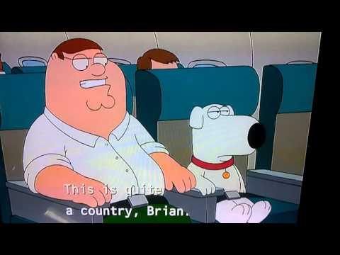 Family Guy Ireland.        Let me cut you an Irish Rose.