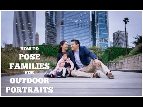 Photography poses for big family
