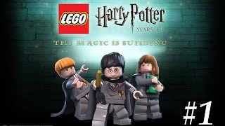 Lego Harry Potter: Years 1-4 #1 The Magic Begins