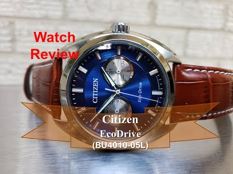 The Best Affordable Eco-Drive Watch From Citizen (BU4010-05L) - 2019