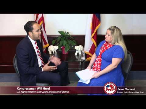 U.S. Representative Will Hurd Interview Bexar GOP