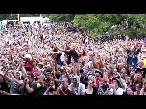 The Lancashire Hotpots - Chippy Tea at Kendal Calling 2011