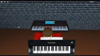 Senbonzakura Ballad - Vocaloid by: Hatsune Miku on a ROBLOX piano. [Iuliang123]