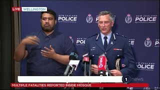 New Zealand Terror attacks: Police Commissioner Mike Bush on perpetrators