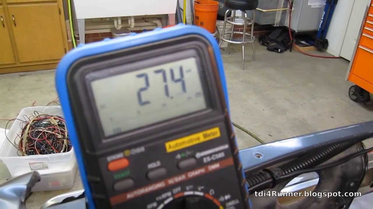 medium resolution of tdi 4runner build pt 13 early alh glow plug relay wiring diy vw harness youtube