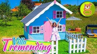 ¡¡Presentación de VILLA TREMENDING!!  🏡 Mi CASITA de MADERA thumbnail