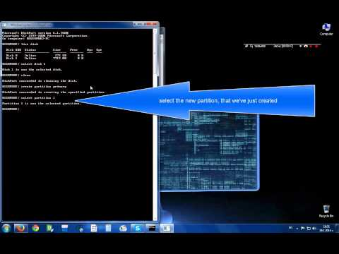 How to format your usb flash drive, using only cmd