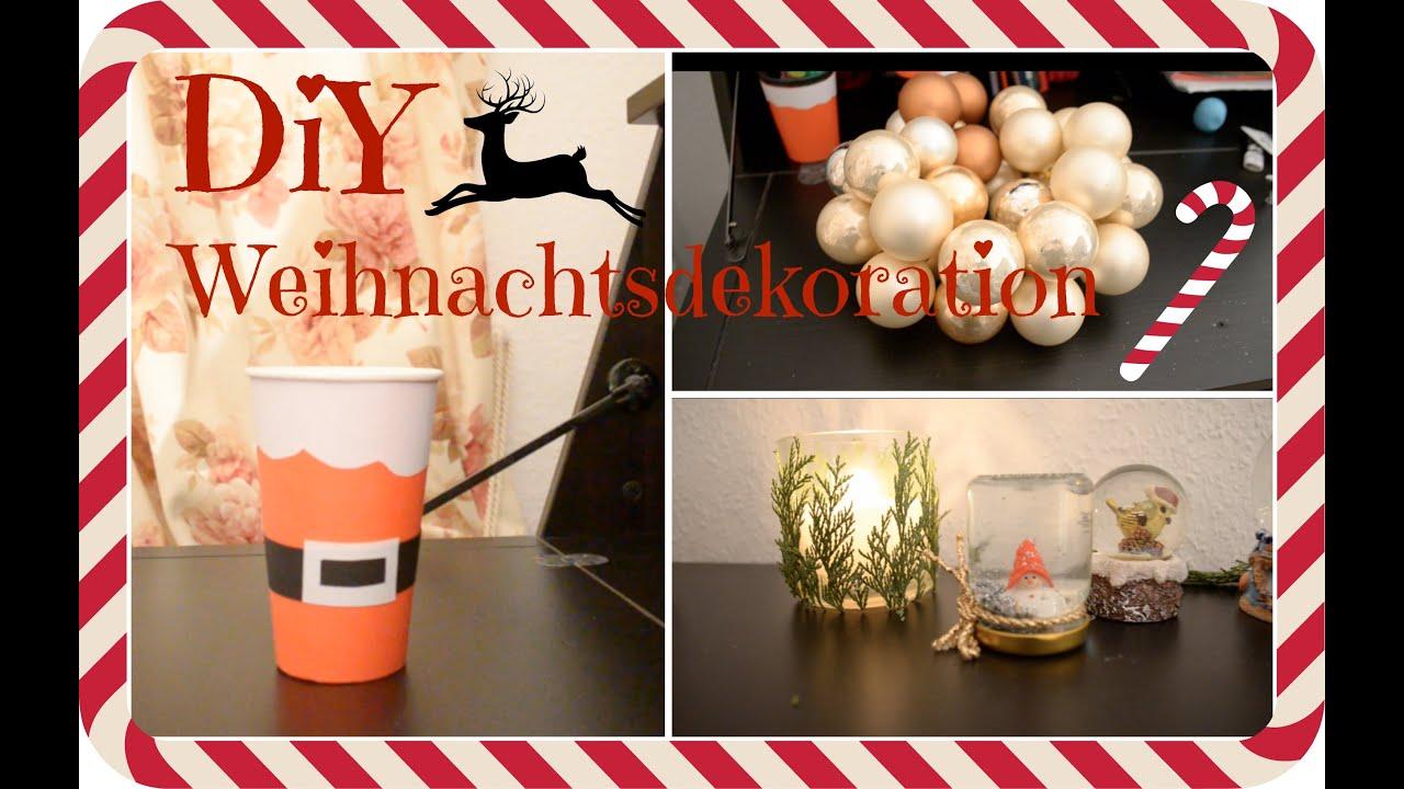 Diy weihnachtsdeko weihnachtenmitvanessa youtube for Youtube weihnachtsdeko