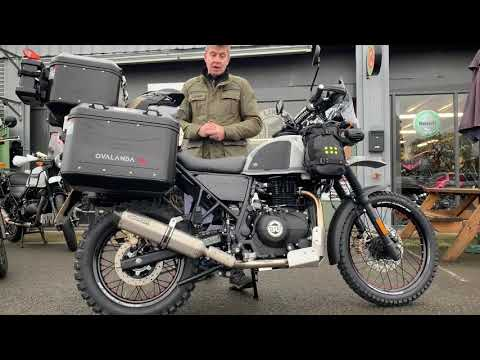 The 2020 Royal Enfield Himalayan Ovalanda Edition By Cooperb Motorcycles