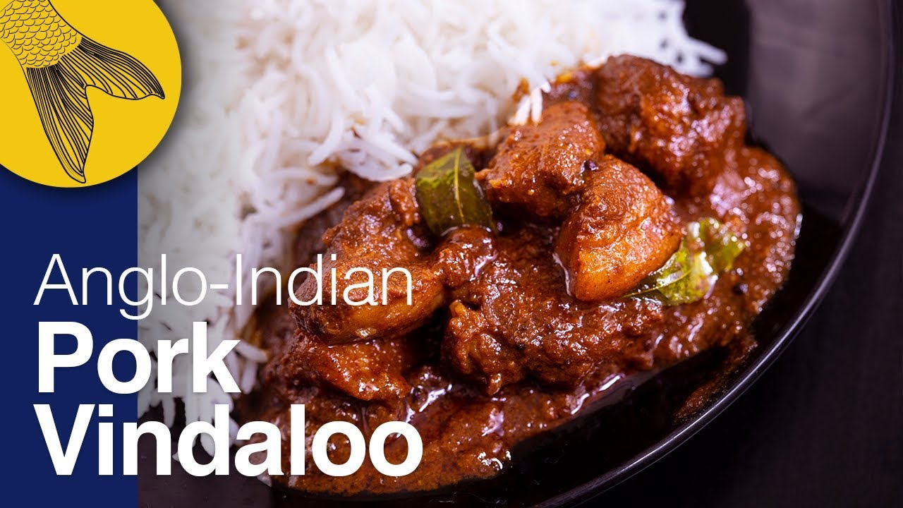 Pork Vindaloo Recipeanglo Indian Recipechristmas Special