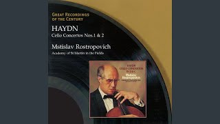 Concerto for Cello and Orchestra No. 2 in D Major, Hob. VIIb:2 (Cadenzas: Mstislav...