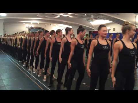 Radio City Rockettes Rehearsal 2016