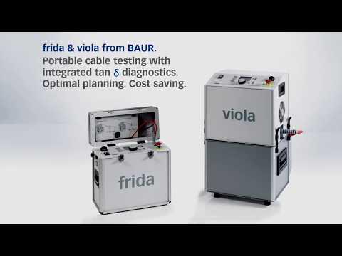 BAUR Frida & Viola VLF Testers