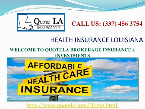 Health Insurance Louisiana