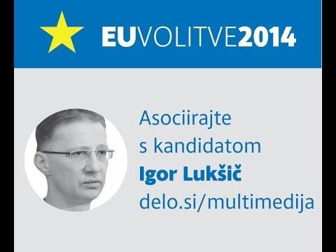 Asociirajte s kandidatom: Igor Lukšič (karikature)