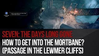 Seven: The Days Long Gone - How to get into the Mortbane? (passage through the Lewmer Cliffs)