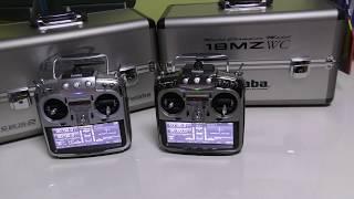 ラジコン飛行機 送信機 フタバ 18MZ と 18MZ/WC どこが違うか比べてみた【4K】
