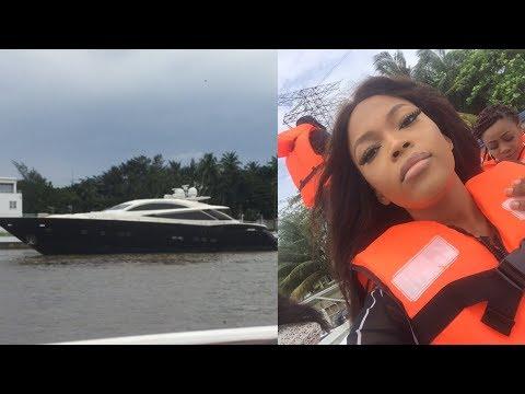 LUXURY BOAT CRUISE TO TARKWA BAY BEACH, LAGOS NIGERIA | Anivlogs