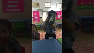 Baby boss at school