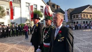 Schützenfest 2019 - Parade der Junggesellen Samstag
