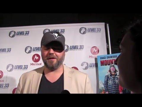 Tyler Labine interview at Mountain Men premiere in LA