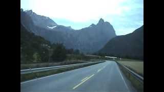 Romsdalen och älven Rauma 2009, Norway.mpg