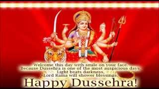 Happy Dasara/Dussehra wishes- Happy Vijayadashmi Greetings in Hindi/English2015