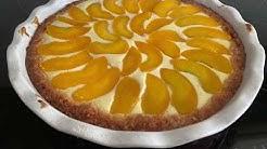 Heinin keittiössä - persikka-rahkapiirakka
