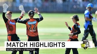 Scorchers end WBBL|04 with a win | Rebel WBBL|04