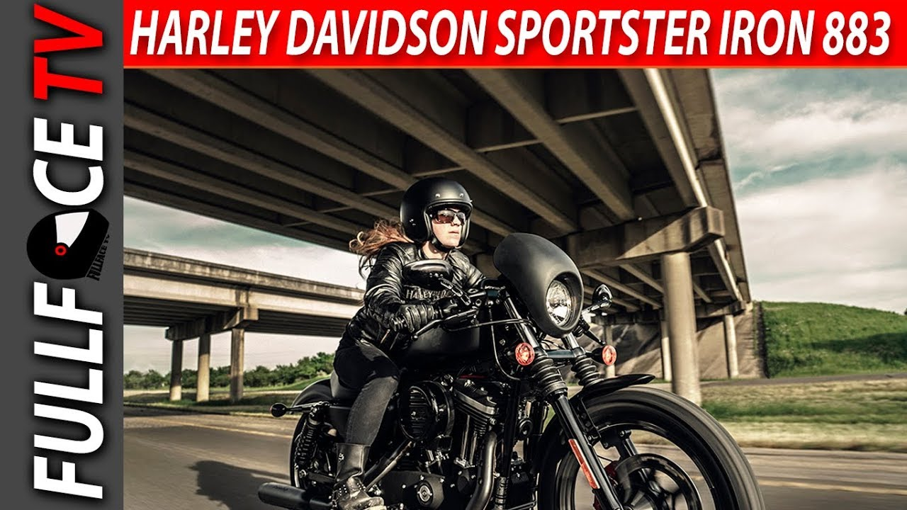 2017 harley davidson sportster iron 883 review - youtube