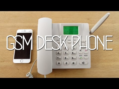 GSM Mobile Deskphone Review - Part 1