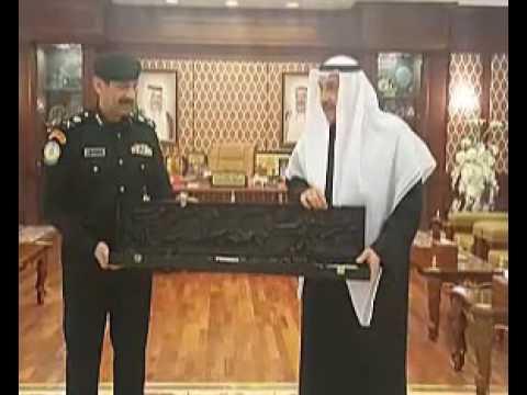 الشيخ فيصل الحمود كرم مدير أمن المطار بمناسبة ترقيته لرتبة لواء