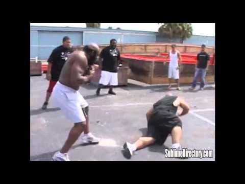 Kimbo Slice vs Afropuff y Big Mac