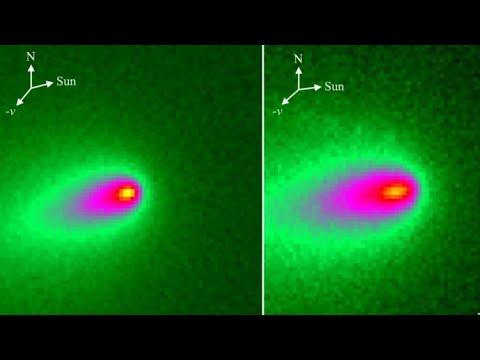 Comet ATLAS is BREAKING Apart!