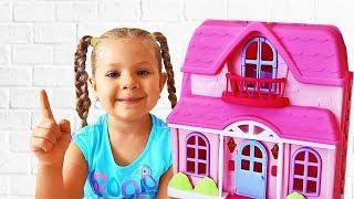 Diana, papai e a casinha de boneca