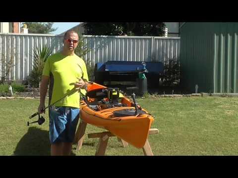 Heavy Offshore Rig for Kayak Fishing Australia Aussie Oz Ozzie Ocean Ausyak Yak Sydney Brisbane