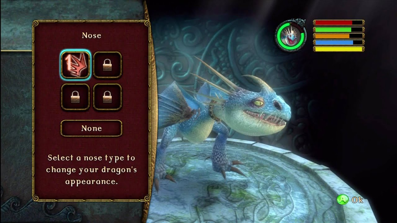 How to train your dragon xbox 360 dragon customizer youtube ccuart Choice Image