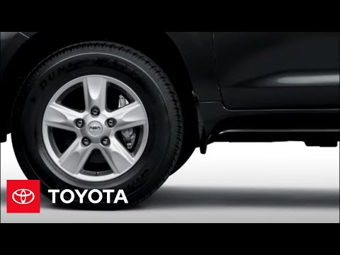 2010 Land Cruiser How-To: Tire Pressure Monitor System (TPMS) | Toyota