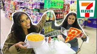 Eating a 3 Course Meal IN 7-ELEVEN