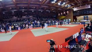 23° TROFEO ALPE ADRIA - U18M FINAL 1°-2° CAT.46kg - SKENDERI Vincenzo vs PROIETTI Mattia