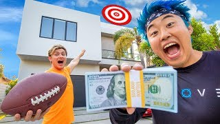 BEST FOOTBALL TRICK SHOT WINS $10,000 (GAME OF PIG)