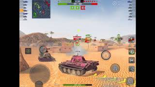 WoT Blitz | Pink Panther Aced