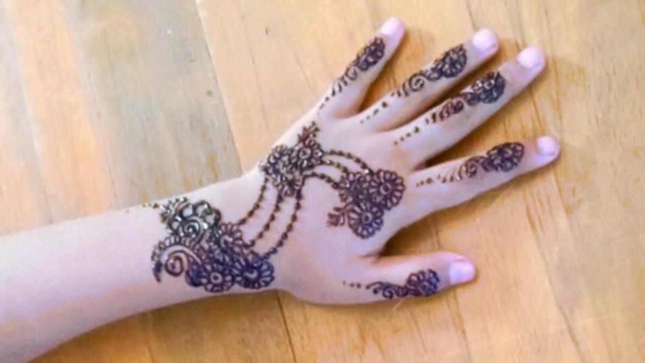 Henna Design For Eid By Anit Hinata Cocok Untuk Anak Anak Simpel Dan